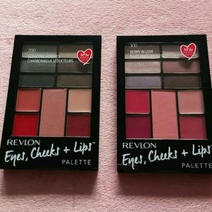 REVLON Bundle of TWO  PALETTE #200 AND  #300